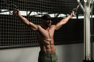 Chest Workout Cable Crossover