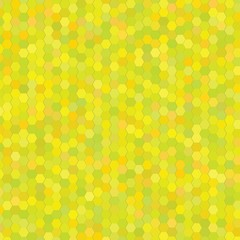 yellow hexagon background