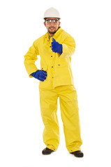 hispanic rain suit