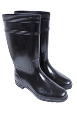 rubber boots isolate on white