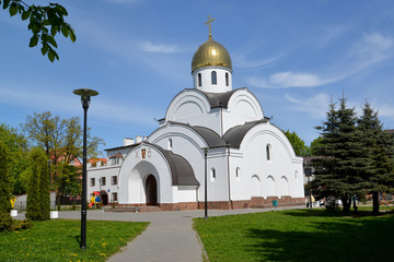 Kaliningrad.  Temple of the Saint apostle Andrew the First-Calle