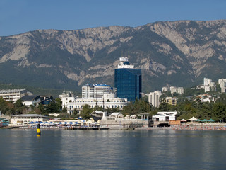 Crimea. The Black Sea coast in Yalta