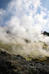 Sicilia, isole eolie, vulcano