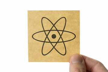 原子核 アイコン nucleus