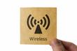 Wi-Fi 無線LAN アイコン wireless