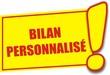 étiquette bilan personnalisé