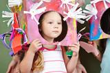 Fototapety Kinder mit Verkleidung zu Karneval