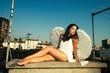 angel on roof