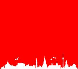 Skyline Kiel rot