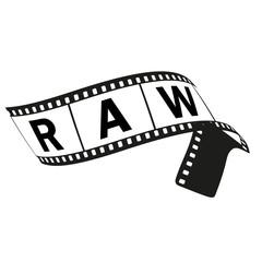 Filmstreifen, RAW