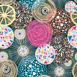 Obrazy na płótnie, fototapety, zdjęcia, fotoobrazy drukowane : color pattern with abstract elements