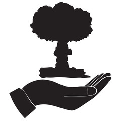 Icon arms and nuclear explosion