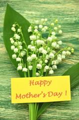 życzenia na dzień matki i konwalie
