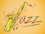 Jazz Vector Art - 65097728