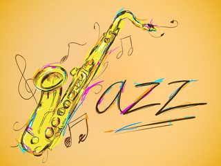Jazz Vector Art