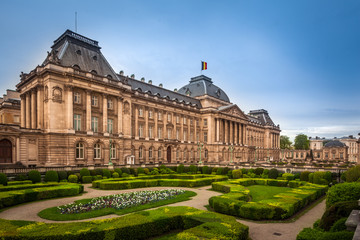 The Royal Palace, Brussels, Belgium