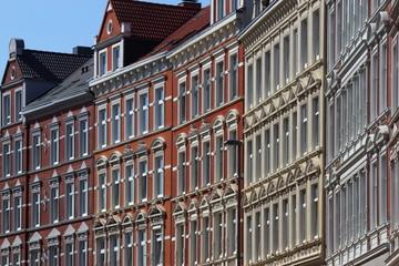 restaurierte Häuserzeile