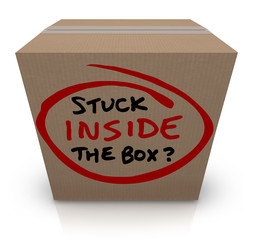 Stuck Inside the Box Stale Unoriginal Ideas Same Bureaucracy