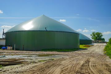 Bau und Erweiterung einer Biogasanlage