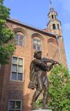 Flisak Statue in Torun, Poland