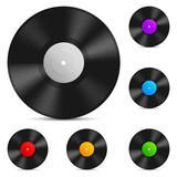 Fototapety Vinyl record.