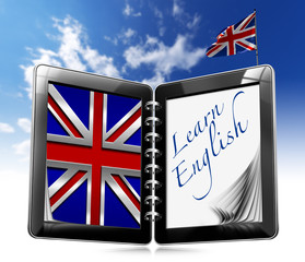Learn English - Tablet Computer