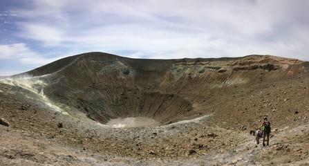 discesa al cratere
