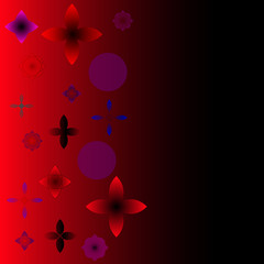 Abstract  backgrounds. Red