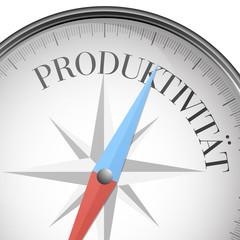 Kompass Produktivität