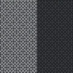 Black and white ornamental pattern