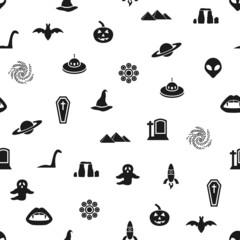 mystic seamless pattern