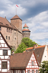 Castle in Nuremberg, Germany