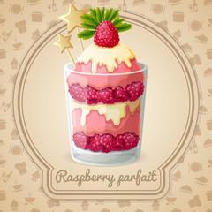 Raspberry parfait emblem