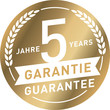 Siegel Gold 5 Jahre Garantie