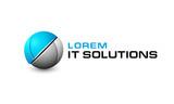 Fototapety Logo template, vector, it solutions, robotics, modern, hitech