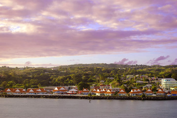 Scarborough Harbour Tobago