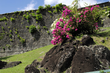 St George's Fort in Grenada