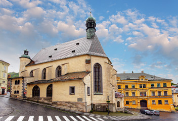 Banska Stiavnica, St. Katharine church, Slovakia.