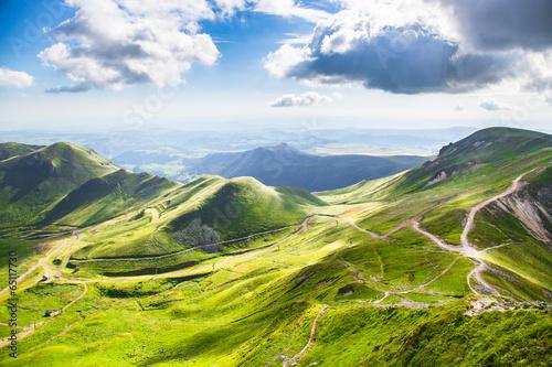 Papiers peints Montagne Montagnes d'Auvergne