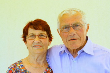 couple, troisième age,75 ans,portrait