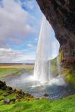 Fototapety Iceland waterfall - Seljalandsfoss