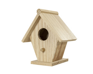 Little Birdhouse Isolated