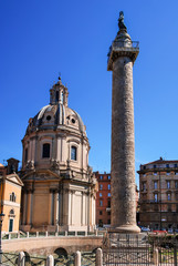 Rome, Trajan Column, Italy