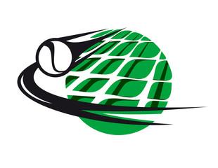 Tennis sport icon