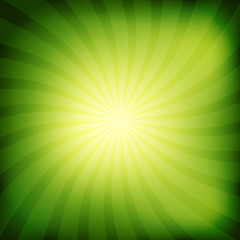 Colorful rays abstract background