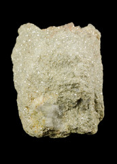 Valuable lithium ore, light green lepidolite mica