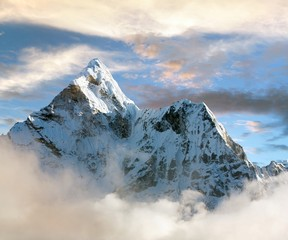 Beautiful view of Ama Dablam