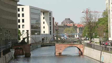 Bridge Jungfernbrücke in Berlin