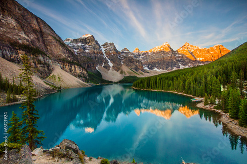 Canvas Meer Moraine Lake