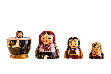 Russian dolls family
